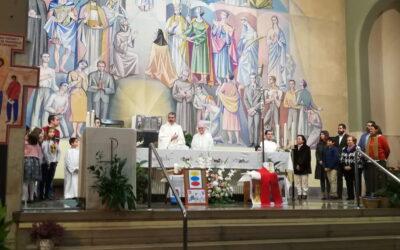 La parroquia celebró la fiesta de Cristo Rey