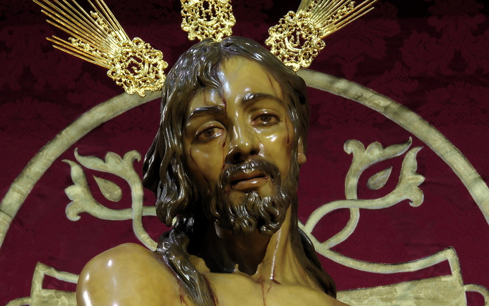 La Hermandad invita a sus cofrades a hacer el Triduo de Jesús del Perdón en sus casas