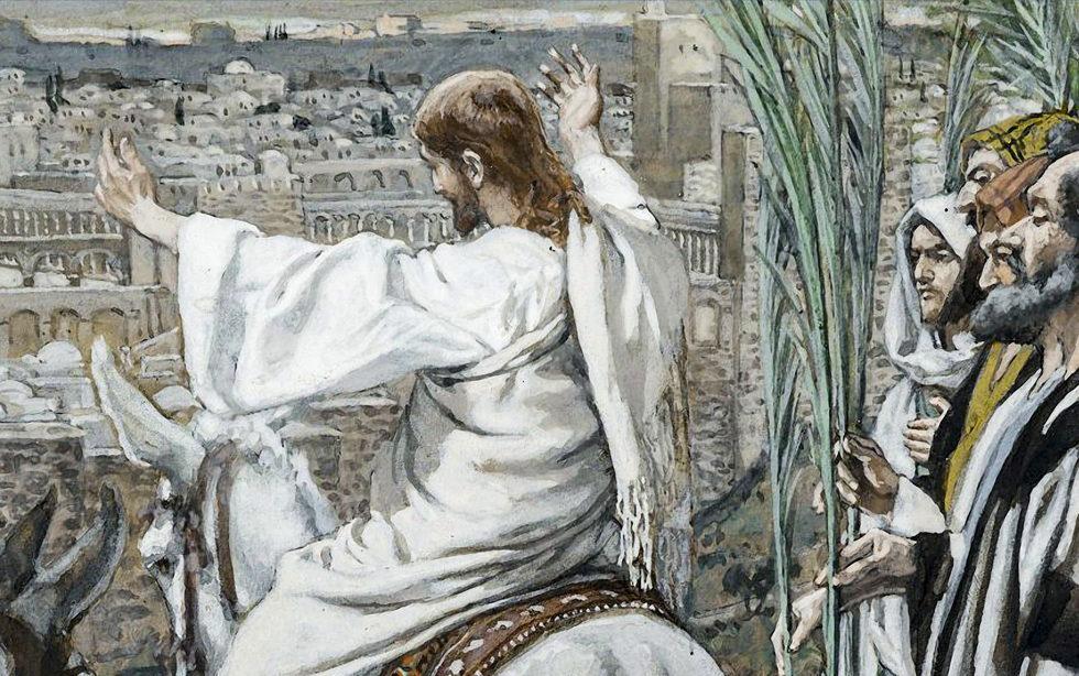 Oramos unidos, aunque no estemos juntos. Domingo de Ramos en la Pasión del Señor (en directo)