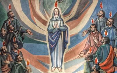 Oramos unidos, aunque no estemos juntos. Lunes de la novena semana del Tiempo Ordinario. Santa María Madre de la Iglesia