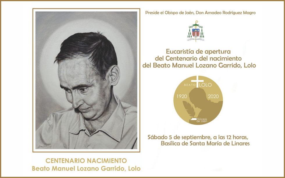 Misa de apertura del Centenario del Beato Lolo en Linares