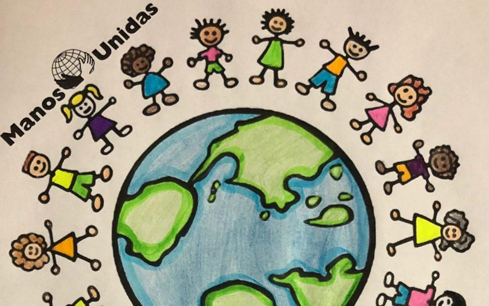 Mira los dibujos con los que los niños de catequesis han participado en la campaña de Manos Unidas